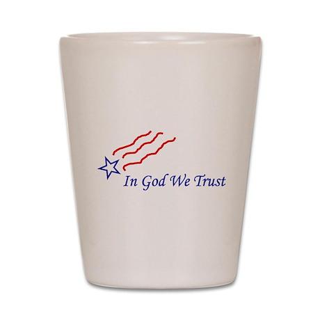 In God star Shot Glass