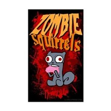 Zombie Squirrels Decal