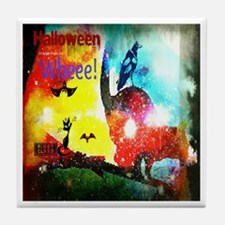 Halloween Fly By1 Tile Coaster