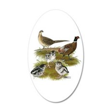 Pheasant Family Wall Decal