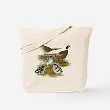 Pheasant Family Tote Bag