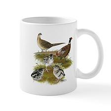 Pheasant Family Mug