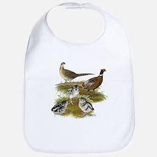 Pheasant Family Bib