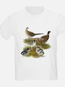 Pheasant Family T-Shirt