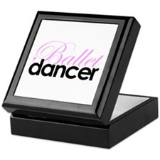 Ballet Dancer Keepsake Box