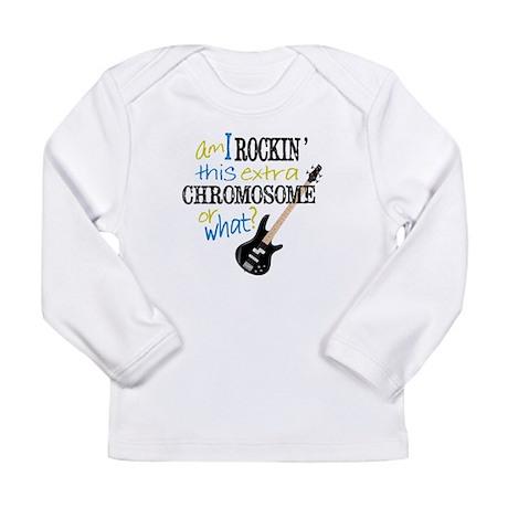 Rockin Chromosome Long Sleeve Infant T-Shirt
