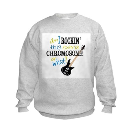 Rockin Chromosome Kids Sweatshirt
