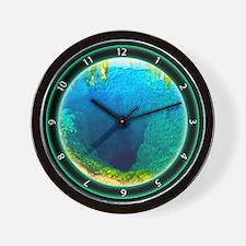 Morning Glory Pool Yellowstone Wall Clock