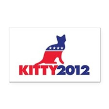Kitty 2012 Rectangle Car Magnet