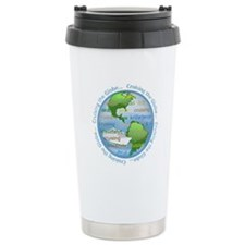 Cruising The Globe Ceramic Travel Mug