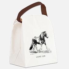 Gypsy Horse Canvas Lunch Bag