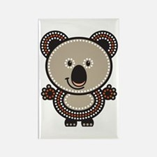 Aboriginal Koala Rectangle Magnet