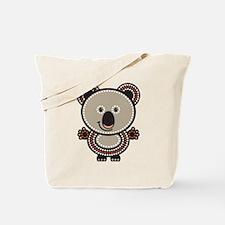 Aboriginal Koala Tote Bag