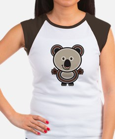 Aboriginal Koala Women's Cap Sleeve T-Shirt