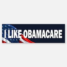 I Like Obamacare Bumper Bumper Sticker
