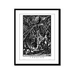 Cthulhu Framed Panel Print