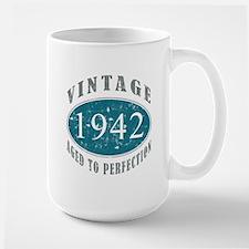 1942 Vintage Blue Mug