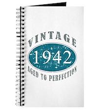 1942 Vintage Blue Journal