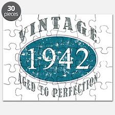 1942 Vintage Blue Puzzle