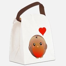 Cute bird Canvas Lunch Bag