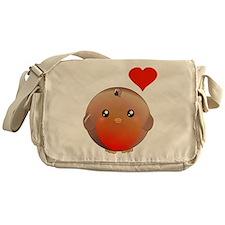 Cute bird Messenger Bag