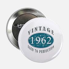 """1962 Vintage Blue 2.25"""" Button"""