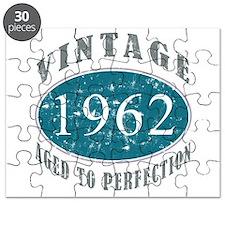 1962 Vintage Blue Puzzle
