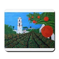 Parade of Oranges Mousepad
