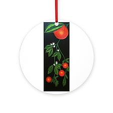 Night Oranges Ornament (Round)