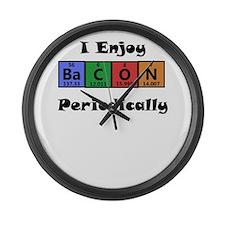 Periodic Table Bacon Science Geek T-Shirt Large Wa
