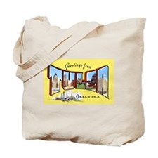 Tulsa Oklahoma Greetings Tote Bag
