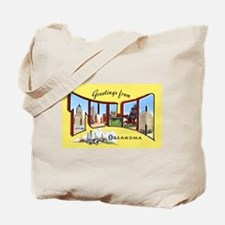 Tulsa Oklahoma Greetings Tote Bag