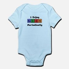 Periodic Table Bacon Science Geek T-Shirt Infant B