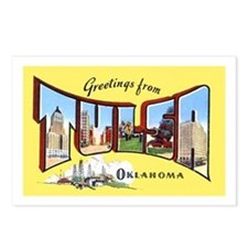Tulsa Oklahoma Greetings Postcards (Package of 8)