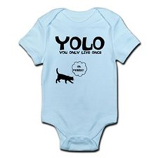 YOLO 9 LIVES Infant Bodysuit
