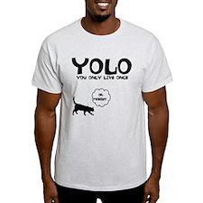 YOLO 9 LIVES T-Shirt