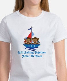 45th Anniversary Sailing Women's T-Shirt