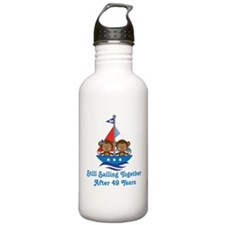 49th Anniversary Sailing Water Bottle