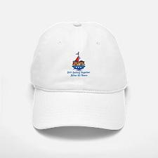 50th Anniversary Sailing Baseball Baseball Cap