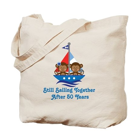 50th Anniversary Sailing Tote Bag