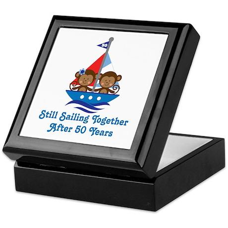 50th Anniversary Sailing Keepsake Box