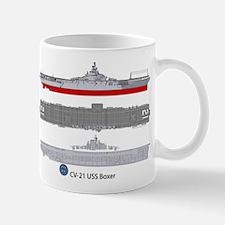 USS Boxer CV-21 Mug