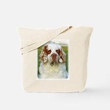 Clumber Spaniel AF015D-125 Tote Bag