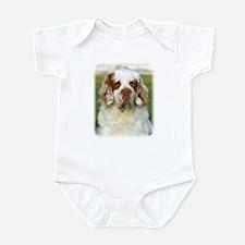 Clumber Spaniel AF015D-125 Infant Bodysuit