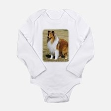 Collie Rough AF036D-028 Long Sleeve Infant Bodysui