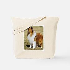 Collie Rough AF036D-028 Tote Bag