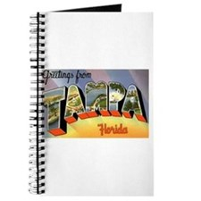 Tampa Florida Greetings Journal