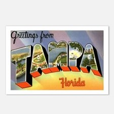 Tampa Florida Greetings Postcards (Package of 8)