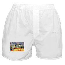 Tampa Florida Greetings Boxer Shorts