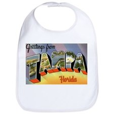 Tampa Florida Greetings Bib